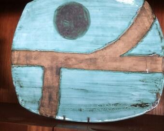 Primitive decorative plate 53