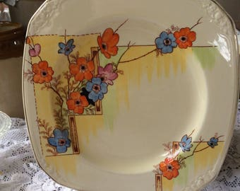 Coronet Ware Art Deco singleton tea plate