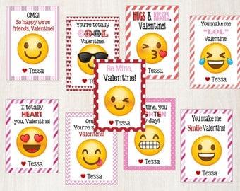 Emjoi Printable Valentine's Day Cards!