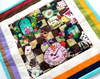 "Pillowcase ""Alice"", cushion cover, pillowslip"