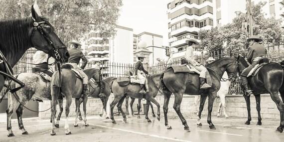 CITY COWBOYS. Jerez Horse Festival, Street Photography, Horse Print, Spain, photographic Print, Limited edition