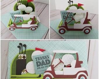 Golf Cart box card