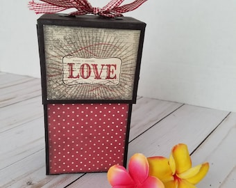 Handmade scrapbook mini album