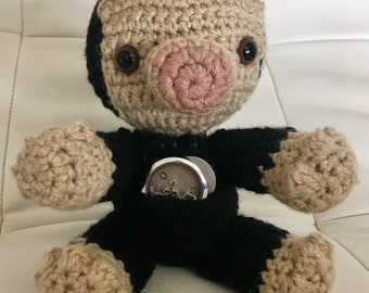 Niffler plush, Harry Potter toy, Harry Potter gift, Fantastic Beasts and Where to Find Them, Crochet Niffler, baby shower gift