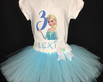 Elsa inspired Birthday outfit