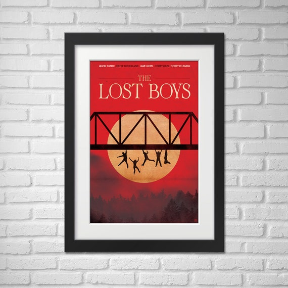 The Lost Boys Movie Poster Illustration [The Lost Boys Movie Poster / The Lost Boys]