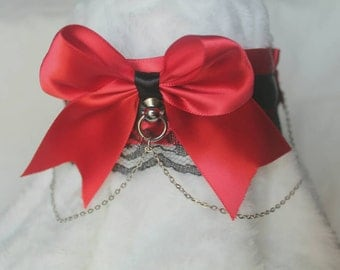 Dark Princess ~ Kitten Play Collar