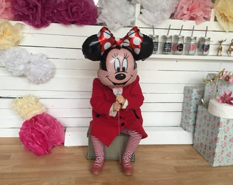 Minie Mouse Foil balloon , Birthday party,Baby shower foil ,Gender Reveal