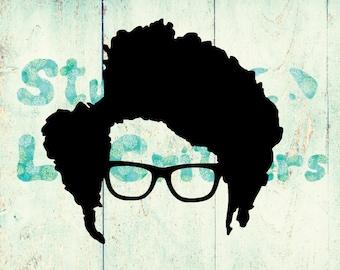 IT Crowd - Vinyl Decal - Moss - IT Crowd Vinyl Decal - Maurice Moss - Richard Ayoade - Bumper Sticker - British Sitcoms - TV Shows