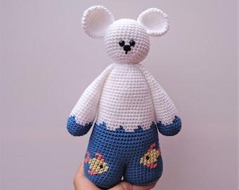 teddy bear aquarium fish-legged softie toy plushie cuddle majiggy