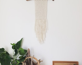 Macrame wall hanging, Nursery, fibre art, Wall hanging, Wall decor, Wall art, Rope hanging, Bohemian, Boho decor, wall mural, knot, UK, Clar