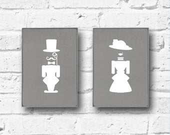Bathroom Sign, Toilet sign, Bathroom Decor, Bathroom Wall Sign, Bathroom Wall Decor, décor, Home Decor, Wall Sign, Wall Plaque, gift fot her