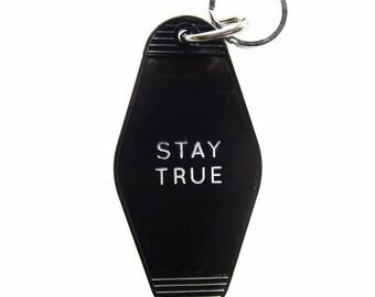 Stay True Key Tag