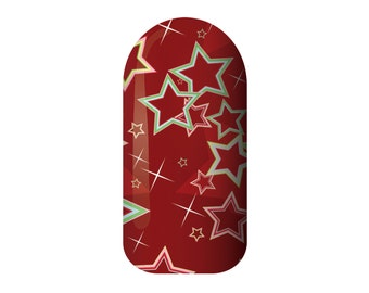 Unique Star Nail Decal Related Items Etsy