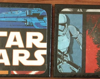 "Tile Coasters ""The Force Awakens"" Star Wars theme"