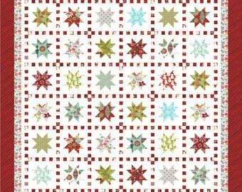 Stars and Stitches PDF Quilt Pattern by Mountain Rose Designs