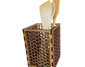 HoneyComb Kitchen Tool Holder
