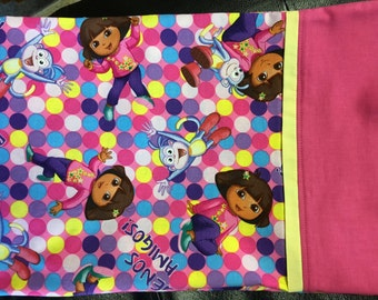 DORA THE EXPLORER Cotton Pillowcase - Standard Size