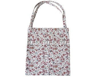 Handmade Ditsy Floral Cotton Tote Bag