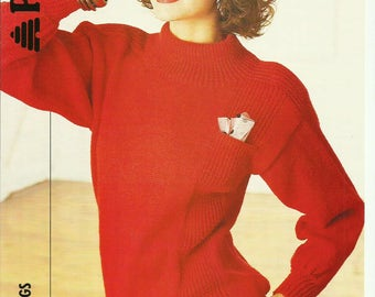 Pdf Ladies Sweater Knitting Pattern.