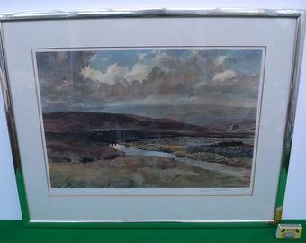 Haworth Moors signed Print by Joseph Pighills