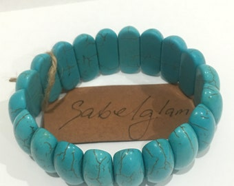 blue fashion bangle