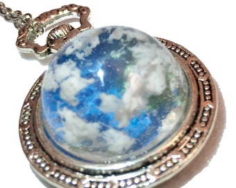 Necklace - Clouds floated in the sky