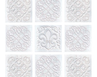 Fleur de Lis Quilt Embroidery set, Quilting embroidery designs, Fleur de Lis Embroidery designs, Trapunto, Quilt patterns, Instant Download