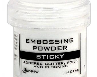 Embossing Powder 24gr Sticky