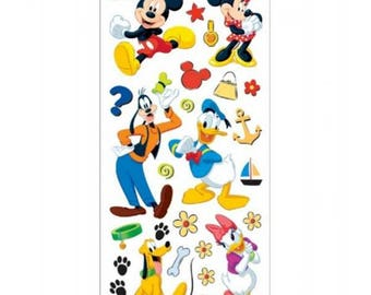 Disney Mickey Stickers and Borders Mickey & Friends