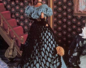 11. Barbie fashion, crochet pattern in pdf