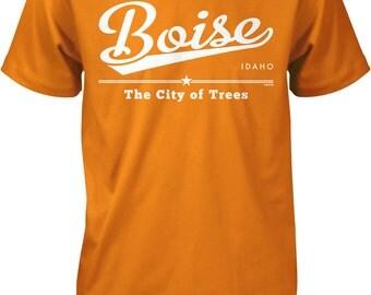 Boise, Idaho, The City of Trees Men's T-shirt, NOFO_00913