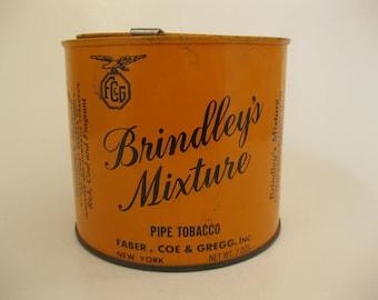 Vintage Brindley's Mixture Pipe Tobacco Tin