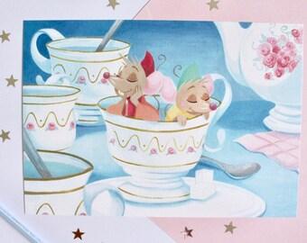 Cinderella Gus iJaq A4 printing