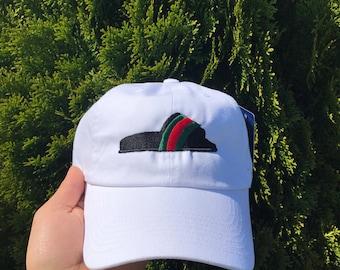 Gucci Flip Flop Embroidered Dad Hat