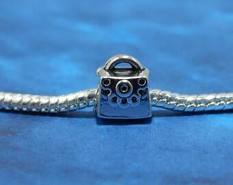European Bead Purse Charm Big Hole-Fashion Bead