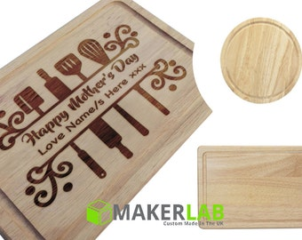 Personalised Cutting Chopping Boards
