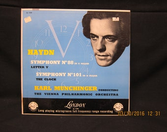 Muchinger Cond Vienna Philharmonic Haydn Symphonies No88(LetterV) & No101(Clock)