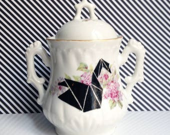 "Sugar Bowl ""Origami"""