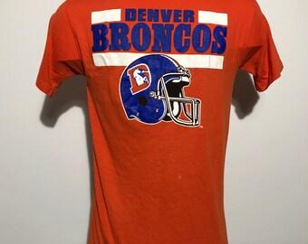 Vintage Denver Broncos Tee M