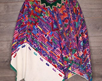 Vintage South American Poncho [0015]