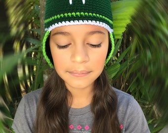 crochet frog Hat, Frog Hat