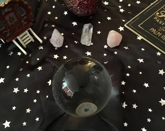 Crystal ball & palmistry reading-5 questions-Gypsy-PDF