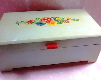 Wooden Retro Jewelry Box