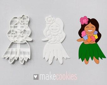Hula Girl Cookie Cutter