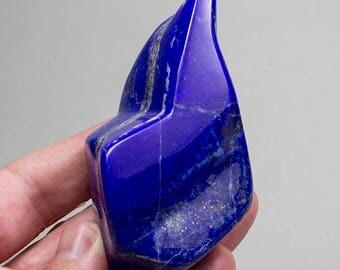 Lapis Lazuli dark blue Standing Display Freeform