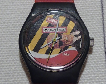 Vintage Coke Watch Max Headroom