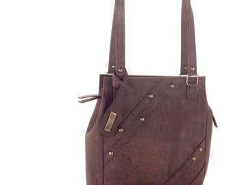Cork bag, shoulder bag
