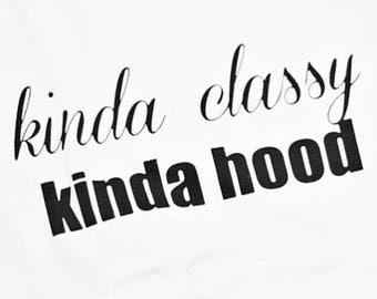 Classy Hood Tshirt