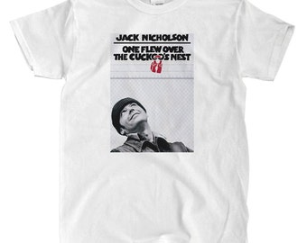 One Flew Over The Cuckoo's Nest - Movie Poster - White T-shirt